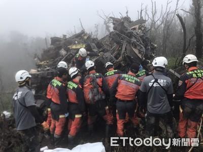 黑鷹墜毀8人罹難 韓國瑜取消今、明競選行程