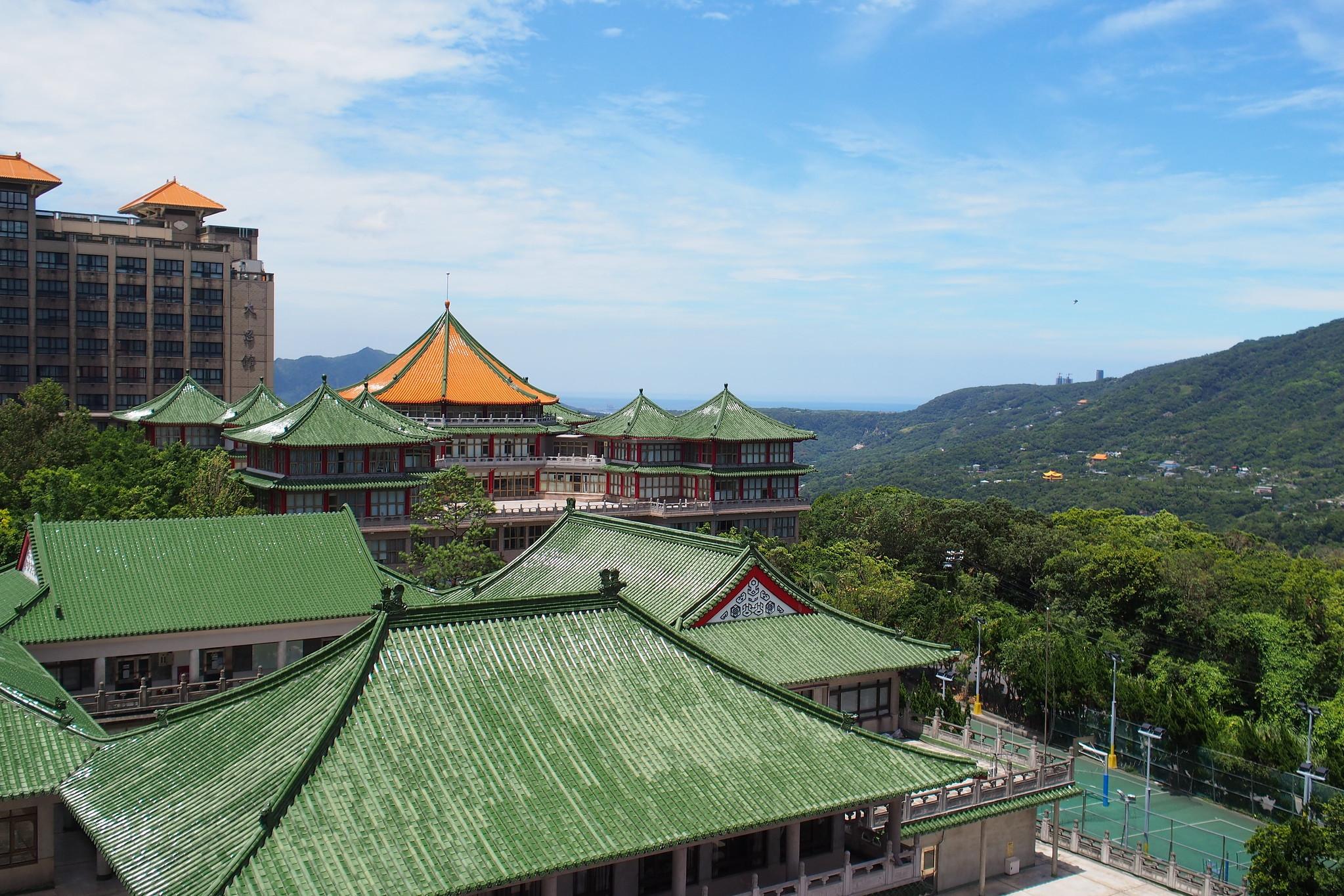 ▲文化大學大仁館。(圖/翻攝自flickr/othree)