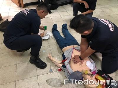 熱血房仲助救護員成功搶救73歲翁