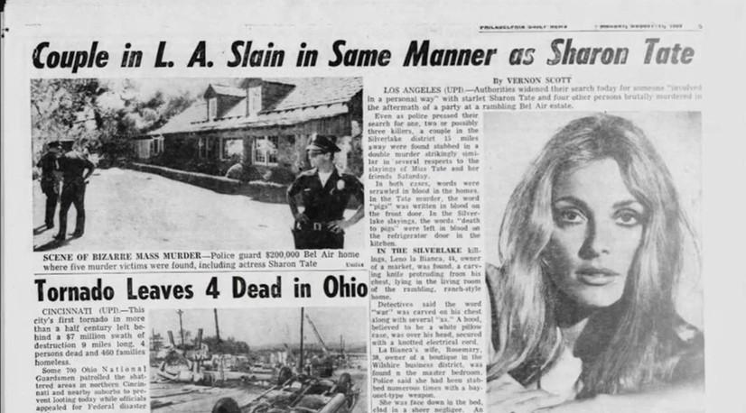 影史最邪門電影《失嬰記》 當紅女星被虐殺 搖滾巨星慘死槍下 製片死前向女主幻影崩潰求饒