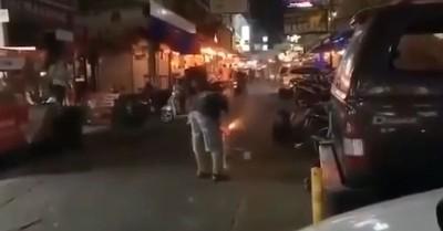 遊客放到NG煙火遭炸死 畫面曝光