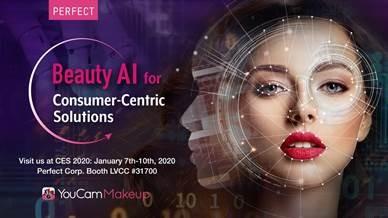 玩美移動參展CES 2020 大秀AI智慧「個人化美妝體驗」