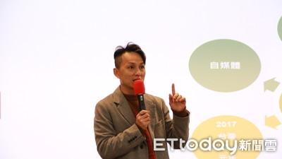 狄志偉回世新談網紅行銷術