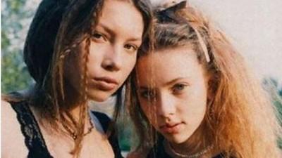迷人大眼超電人!網瘋傳《黑寡婦》史嘉莉喬韓森「14歲嫩照」 從小美到大