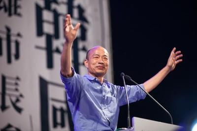 造勢談黑鷹墜機 韓國瑜:台灣中邪了嗎?