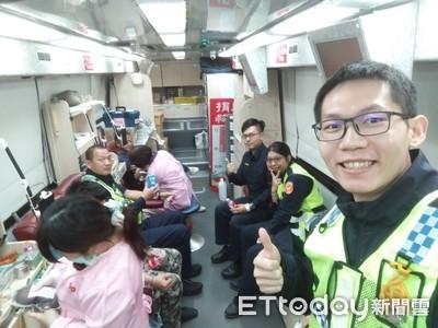 南警挽袖響應副議長捐血活動