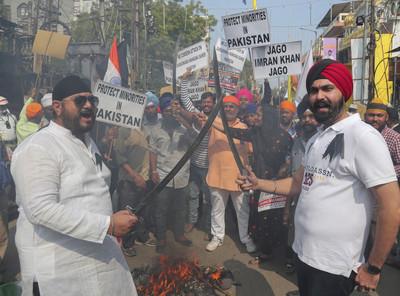 巴基斯坦錫克教徒遭槍殺 印度譴責