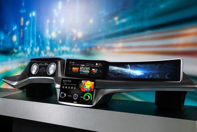 重新定義智慧車用人機介面! 友達CES 2020秀「數位駕駛艙解決方案」