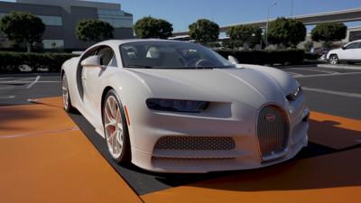 Bugatti Chiron愛馬仕重金客製版