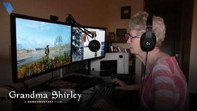 一路玩到掛 83歲阿嬤圓夢成為《上古卷軸》NPC