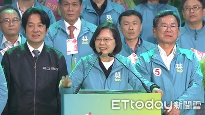 「民進黨會反省會改變、競爭後又團結!」蔡英文嗆:可是國民黨不會
