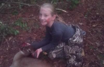 爸帶9歲女趕鹿「慘死獵槍下」!