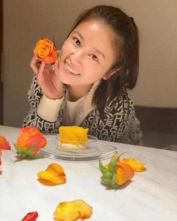 ▲林心如為女兒慶祝3歲生日。(圖/翻攝自臉書/Ruby林心如)