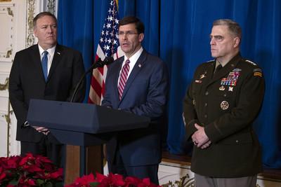 美國防部長闢謠止血:沒要撤軍伊拉克