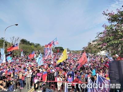 韓國瑜宜蘭造勢!主辦單位喊:突破1.2萬人
