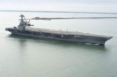 福特號航艦先進阻攔系統完成疲勞測試