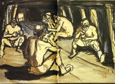 國寶畫家洪瑞麟2500件作品捐贈