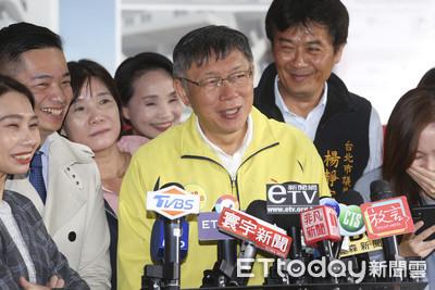 何志偉車隊蹦「愛你喔」 柯P:他這次選得很輕鬆