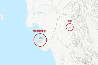 伊朗規模4↑地震連發 震央靠近核廠