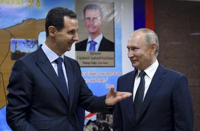 普丁滿臉歡喜「拜訪敘利亞」 時機敏感引關注