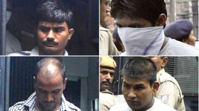印度性侵殺殺案 4犯人2周後絞死