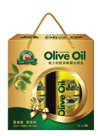 ▲▼得意的一天,橄欖油,過年,義大利經典橄欖油禮,可藍。(圖/得意的一天提供)