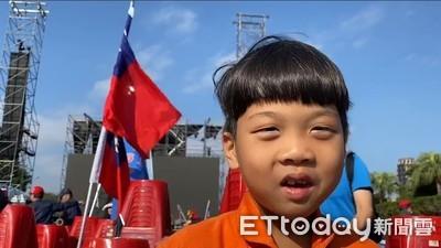 倒數2天!7歲小韓粉「20秒內狂背競選口號」再拉票