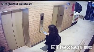 東吳情侶雙屍最後身影!女友3hrs前等電梯滑手機