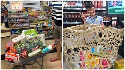 塑膠袋限令始動!泰國人大玩「環保替代方案」 直接拉推車上街超歡樂