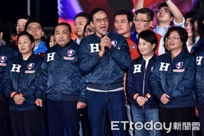 朱立倫率14縣市長凱道力挺韓國瑜