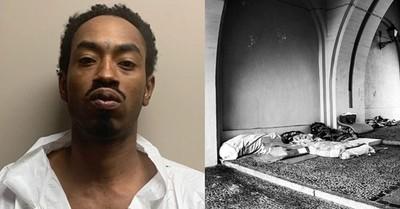 遊民裹毯睡街頭 遭29歲詭男槍殺