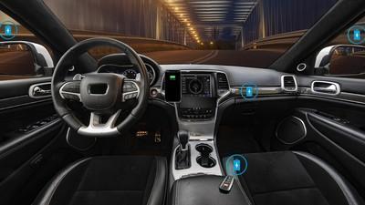 CES新技術可為車內所有手機充電