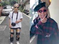 91歲最潮阿嬤「林莊月里」 最愛台灣牌ALT,破褲上街超有態度