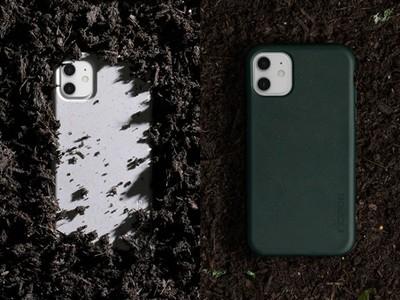 3C大廠推可堆肥用的iPhone保護殼