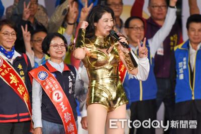 許淑華神力女超人「2.0金色戰袍」性感亮相