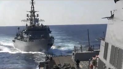 美艦中東遇挑釁!俄艦尾隨「侵略性逼近」