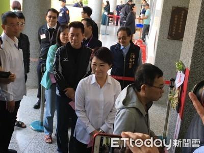 台灣最大資產是民主 盧秀燕籲踴躍投票