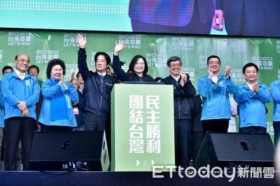 「謝謝沒投給我的人!」蔡英文:我會繼續努力、我們都是台灣人