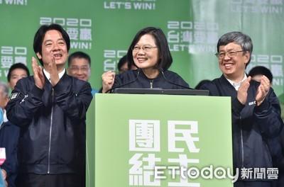蔡英文連任 港媒:台灣國際空間恐再被擠壓