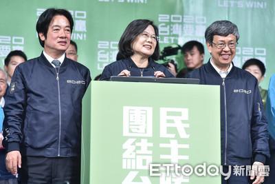 胡采蘋:蔡英文「一句話」承受2018的混亂