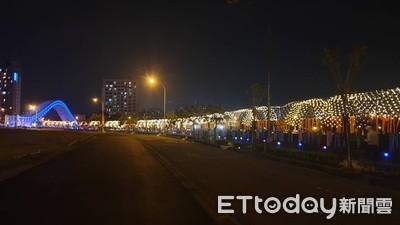 台中海天橋星空隧道成約會新景點