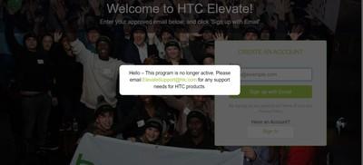 HTC無預警關閉 鐵粉論壇