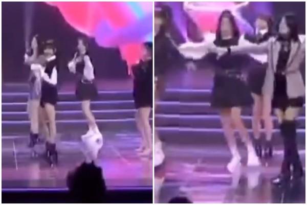 楊超越跳舞「像溜冰一路滑」! 粉絲看清鞋子暴怒:公司沒有心