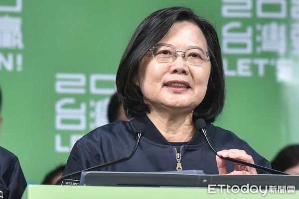 影/「不能排除戰爭的可能性」 蔡英文:中國入侵台灣會付出代價