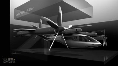 Hyundai與Uber共推空中計程車