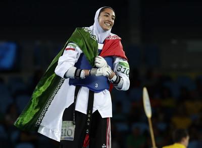 伊朗唯一奧運奪牌女運動員宣布離國