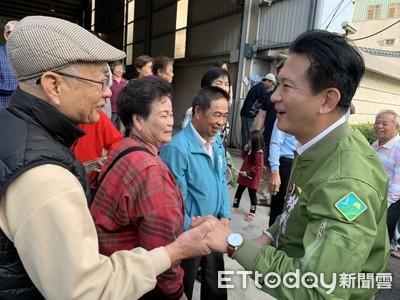 林俊憲謝票以謙卑感恩心情答謝選民