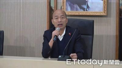 LIVE/重返高雄拚市政 韓國瑜敗選首日上工