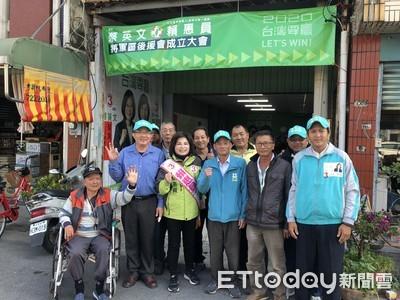 賴惠員向選民保證積極爭取興建冷鏈