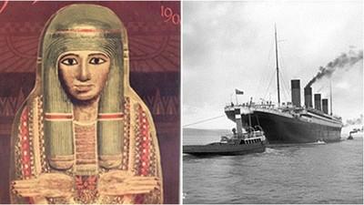 鐵達尼號沈船全因它?女祭司死後變成「詛咒木乃伊」 買主全無故慘死